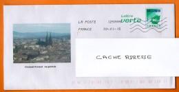 CLERMONT FERRAND  2015   Entier Postal  N° W 685 - Prêts-à-poster: Repiquages /Logo Bleu