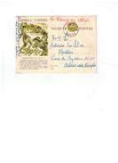 Entier Postale Du Portugal Reconquista De Angola - 25/01/1922 -Santarém - Marcophilie