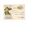 Entier Postale Du Portugal O Rei Dom Joao V - 02/03/1959 -Lourinha - Marcofilie