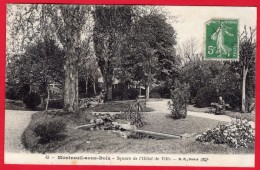 -- MONTREUIL Sous BOIS (Seine Saint Denis) - SQUARE DE L'HÔTEL DE VILLE -- - Montreuil