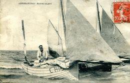 N°52388 -cpa Arromanches -rentrée Au Port- - Arromanches