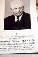 Victor Martin, Rosalie Lambert Flamisoul 1889 Flamierge 1963 - Bertogne