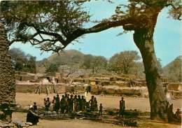 VILLAGE DE HAUTE VOLTA      TIMBRE - Burkina Faso