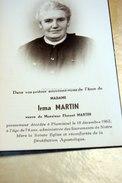 Irma Martin, Florent Flamisoul 1962 - Bertogne