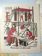 Carte De Voeux 1969 Les Maisons Abonnel Paris : Constructeur Au XVII-e Siècle - Nouvel An