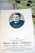 Rosalie Lambert, ép Victor Martin Hemroulle 1893  Flamierge 1959 - Bertogne