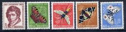 SWITZERLAND 1955 Pro Juventute Set  MNH / **.  Michel 618-22 - Switzerland