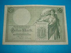 BILLET ) ALLEMAGNE / 10 ZEHN MARCK / ANNEE - 1906 / SERIE T.Nr / N° 2409225 - [ 2] 1871-1918 : Impero Tedesco