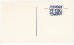 "US Postal Stationery Postcard 1964 Americans ""Moving Forward"" US Social Security UX51 Bb161110"