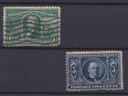 USA - 1904 - N°159 Et 162 - Unclassified