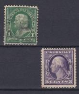 USA - 1908/1909 - N°167 Et 169 - Unclassified