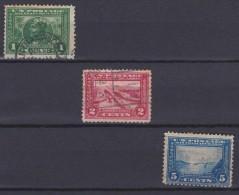 USA - 1912/1915 - N°195 à 197 - Unclassified