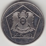 @Y@    Syrië  5 Pounds   2003           (3887) - Siria