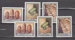 Jordan 1974,6V,set,dead Sea,dode Zee Rollen,totes Meer,MNH/Postfris,(A3000) - Archeologie