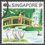 Singapore. 1990 Tourism. 40c Used. SG 630 - Singapore (1959-...)