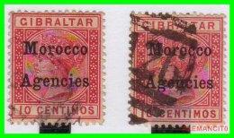 GRAN BRETAÑA  AGENCIAS  GIBRALTAR MOROCCO  -  SELLO AÑO 1914 - South West Africa (1923-1990)