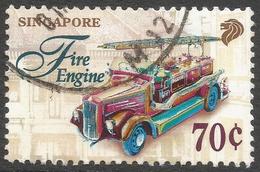 Singapore. 1997 Transportation. 70c Used. SG 877 - Singapore (1959-...)