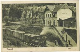 Tusnad Gara Gare Train  Fotograf Oscar Adler Brasov 1928 Brasso - Roumanie