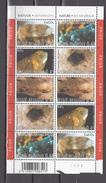 Belgium Belgie 2004,10V In Block,mineralen,minerals,mineralien,minéraux,minerales,minerali,MNH/Postfris,(L2864) - Mineralen