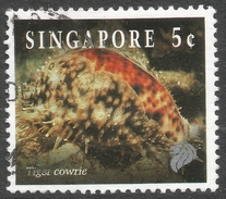 Singapore. 1994 Reef Life. 5c Used. SG 742 - Singapore (1959-...)