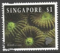 Singapore. 1994 Reef Life. $1 Used. SG 750 - Singapore (1959-...)