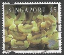 Singapore. 1994 Reef Life. $5 Used. SG 752 - Singapore (1959-...)