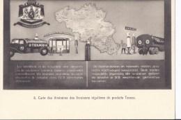 3 CP 14x10 Exposition Bruxelles 1935. Pavillon Des Produits Texaco. Auto,camions... - Exposiciones Universales