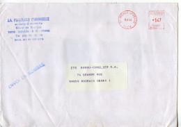 EMA 18 Mehun Sur Yevre,Cher,animaux,oiseaux,SA Porcelaine L'Hrondelle,lettre Obliterée 98.8.1984