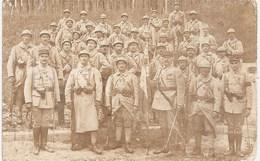 Carte Photo Militaire 1914-1918 - Soldats Et Officiers 416e RI - Régiment - Vincennes Daumesnil 14.7.1917 Médailles - Guerre 1914-18