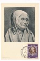 VATICAN - Série Commémorative Du Concile De Trente - Sainte Angèle MERICI - 1950 - Cartes-Maximum (CM)