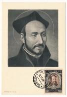 VATICAN - Série Commémorative Du Concile De Trente - Saint Ignace De Loyola - 1950 - Cartes-Maximum (CM)