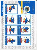 France Adhésif N° 17 A Oblitéré Coupe Du Monde De Football France 98 - France