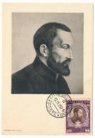 VATICAN - Série Commémorative Du Concile De Trente - Saint Gaetan De Thiene - 1950 - Cartes-Maximum (CM)