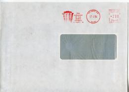 EMA Industrie,dechets,pollution,poubelle,TRU Enlèvement De Tous Résidus Mènagers Industriels,Lettre Lille 17.4.1984 - Pollution