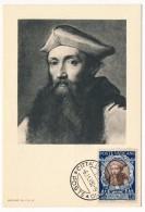 VATICAN - Série Commémorative Du Concile De Trente - REGINALD POLE - 1950 - Cartes-Maximum (CM)