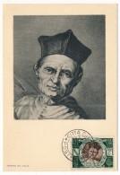 VATICAN - Série Commémorative Du Concile De Trente - MATHIEU GIBERTI - 1950 - Cartes-Maximum (CM)