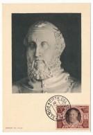 VATICAN - Série Commémorative Du Concile De Trente - GASPAR CONTARINI - 1950 - Cartoline Maximum