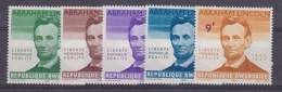 Rwanda 1965 Abraham Lincoln 5w ** Mnh (33739) - Rwanda