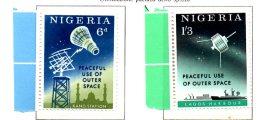 MISS232 - NIGERIA 1963 ,   ***    MNH Spazio / Geofisico. - Nigeria (1961-...)