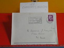 Marcophilie > Flamme > 17 Charente Maritime > Royan - Midi Atlantique, Ville De Congrès - 1967 - Marcophilie (Lettres)
