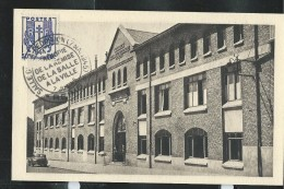 France Carte Vue  Ou Vu Signé La Capitulation à Reims Orné Du N° 673 Obl: 07/07/1945 - Guerre Mondiale (Seconde)