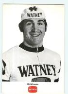 Jackie COENE . Cyclisme . 2 Scans. Watney Maes - Cycling