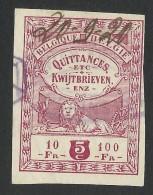 Belgium, Revenue 5 C. 1920 - Stamps