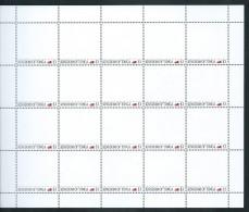 Tonga 2012 Personalised Stamp Full Sheet Of 20 MNH - Tonga (1970-...)