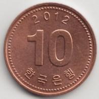 @Y@    Zuid Korea  10 Won   2012          (3902) - Coreal Del Sur