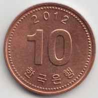 @Y@    Zuid Korea  10 Won   2012          (3902) - Korea (Zuid)