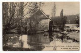 ANGLES SUR L'ANGLIN--1913--Le Moulin à Eau De Remerle éd Arambourou...........à Saisir - Frankrijk