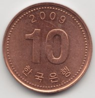 @Y@    Zuid Korea  10 Won   2009          (3903) - Korea (Süd-)