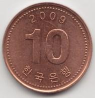 @Y@    Zuid Korea  10 Won   2009          (3903) - Korea (Zuid)