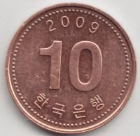 @Y@    Zuid Korea  10 Won   2009          (3907) - Coreal Del Sur